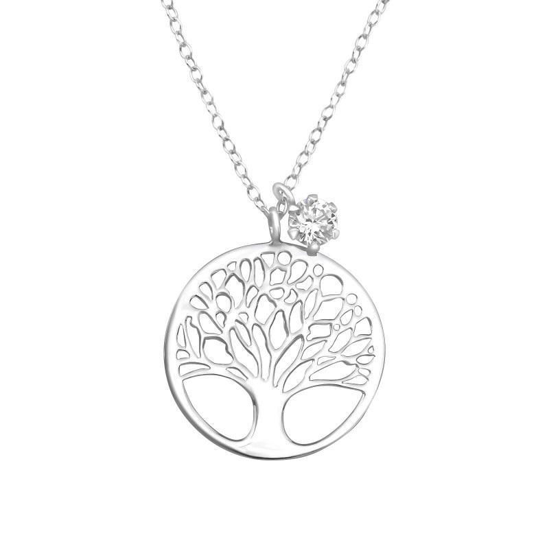 Náhrdelník strom života s kamínkem Zoey